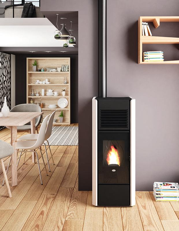 Stufa a pellet Ines 15 kw eva calor – Rizzello Gas Store