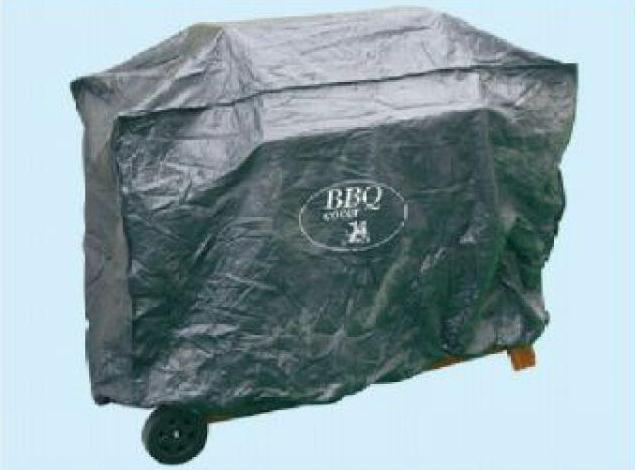 Telo cover per barbecue in polietilene nero 160x68x120 for Copertura per barbecue a gas