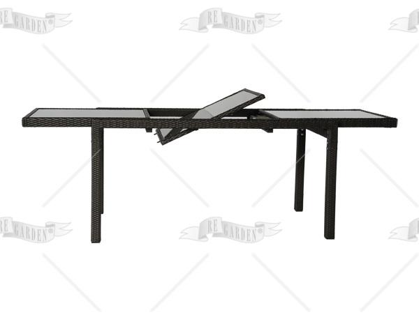 Tavolo Da Giardino Estensibile.Tavolo Da Giardino Estensibile Modello Royal 150 200x80 In Wicker